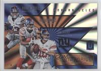 Eli Manning, Odell Beckham Jr., Rashad Jennings
