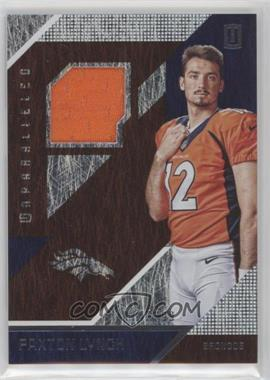 2016 Panini Unparalleled - RPS Rookie Materials #RM-PL - Paxton Lynch /299