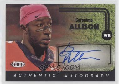 2016 SAGE Hit - Autographs - Black #A43 - Geronimo Allison