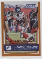 Andre Williams #/10