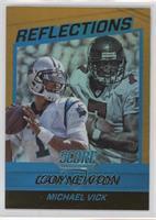 Cam Newton, Michael Vick #/99