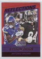 Stefon Diggs, Antonio Brown