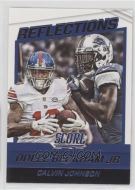 2016 Score - Reflections #11 - Calvin Johnson, Odell Beckham Jr.
