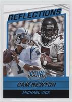 Cam Newton, Michael Vick