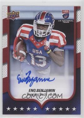 2016 Upper Deck USA Football - [Base] - Autographs [Autographed] #79 - USA U18 - Eno Benjamin