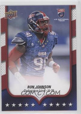 2016 Upper Deck USA Football - [Base] - Flag Wave #20 - USA U19 - Ron Johnson