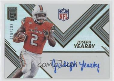 2017 Donruss Elite - Elite Rookie Autographs #RA44 - Joseph Yearby /299