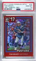 Tom Brady [PSA 10 GEM MT] #/99