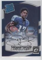 Rated Rookies - Taywan Taylor #/150