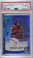 Rated Rookies - Kareem Hunt /149 [PSA 10 GEM MT]