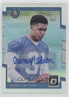 Rookies - Quincy Wilson #/99