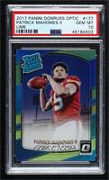Rated Rookies - Patrick Mahomes II [PSA 10 GEM MT]