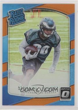 2017 Donruss Optic - [Base] - Orange #183 - Rated Rookies - Shelton Gibson /199