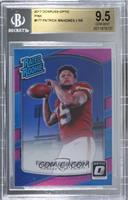 Rated Rookies - Patrick Mahomes II [BGS 9.5 GEM MINT]