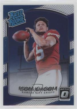 2017 Donruss Optic - [Base] #177 - Rated Rookies - Patrick Mahomes II