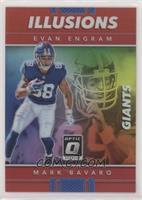 Evan Engram, Mark Bavaro #/99