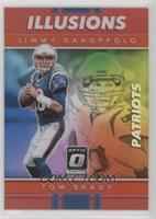 Jimmy Garoppolo, Tom Brady /99