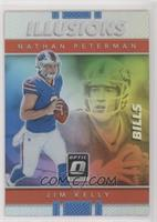 Jim Kelly, Nathan Peterman