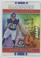 Evan Engram, Mark Bavaro