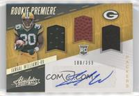 Rookie Premiere Material Autos - Jamaal Williams #/399