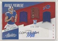 Rookie Premiere Material Autos - Nathan Peterman #/299
