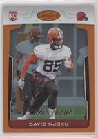 Rookies - David Njoku [Noted] #/199