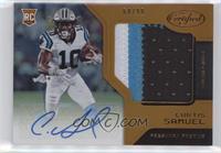Freshman Fabric Signatures - Curtis Samuel #/99