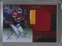 Freshman Fabric Signatures - Kareem Hunt #/249