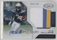 Freshman Fabric Signatures - Mike Williams #/149