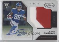Freshman Fabric Signatures - Evan Engram #/299