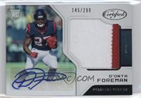 Freshman Fabric Signatures - D'Onta Foreman #/299