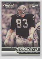 Legend - Ted Hendricks #/99