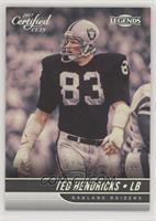 Legend - Ted Hendricks [EX to NM] #/99