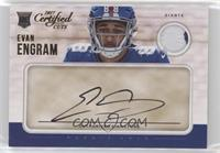 Rookie Cuts - Evan Engram /299