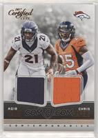 Aqib Talib, Chris Harris #/99