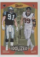 Kevin Greene, J.J. Watt
