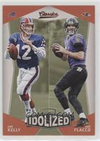 Jim Kelly, Joe Flacco
