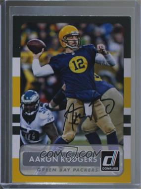 2017 Panini Classics - ReCollection Collection Buybacks #1 - Aaron Rodgers /5