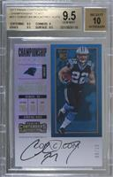 Rookie Ticket RPS - Christian McCaffrey /10 [BGS 9.5 GEM MINT]