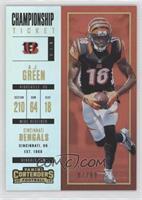 Season Ticket - A.J. Green #/99