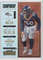 Season Ticket - Von Miller /99