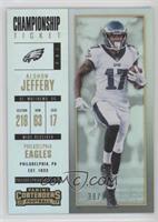 Season Ticket - Alshon Jeffery /99