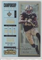 Season Ticket - Michael Thomas /99