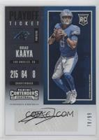 Rookie Ticket - Brad Kaaya #/99