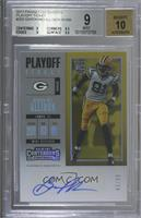 Rookie Ticket/Rookie Ticket Variation - Geronimo Allison [BGS 9 MINT]…
