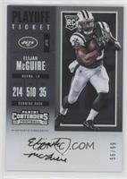 Rookie Ticket/Rookie Ticket Variation - Elijah McGuire /99