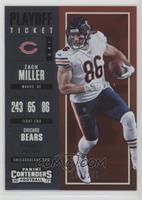 Season Ticket - Zach Miller /249