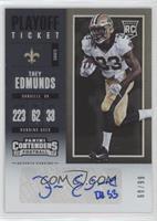 Rookie Ticket/Rookie Ticket Variation - Trey Edmunds #60/99