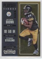Season Ticket - Antonio Brown /249