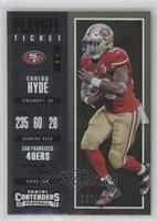 Season Ticket - Carlos Hyde #/249